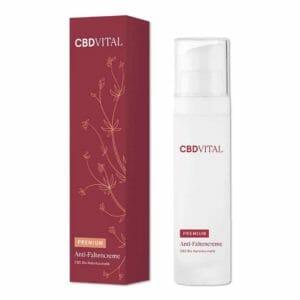 Bild: CBD Vital Kosmetik Anti-Faltencreme