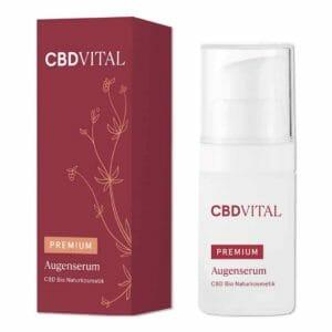 Bild: CBD Vital Kosmetik Augenserum