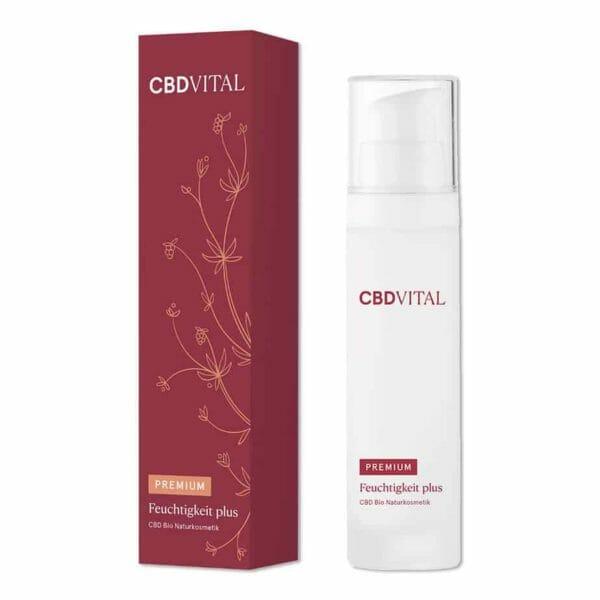 Bild: CBD Vital Kosmetik Feuchtigkeit Plus