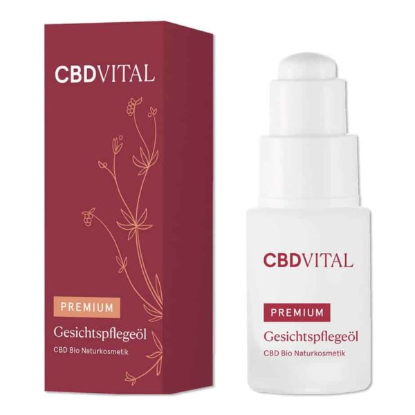 Bild: CBD Vital Kosmetik Gesichtspflegeöl