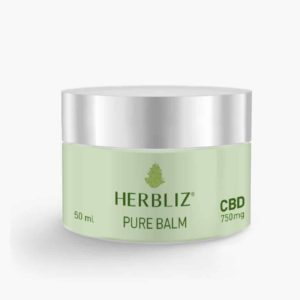 HERBLIZ Pure CBD Balm - 750mg CBD