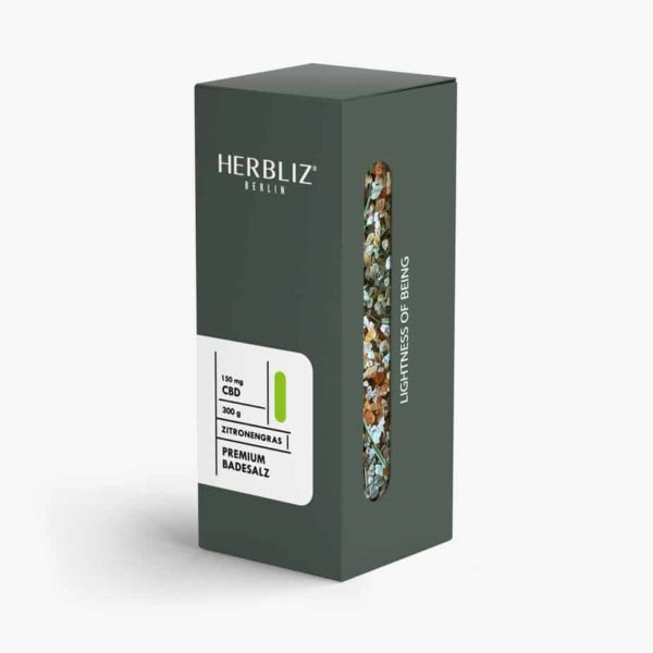 HERBLIZ CBD Badesalz - 150mg CBD