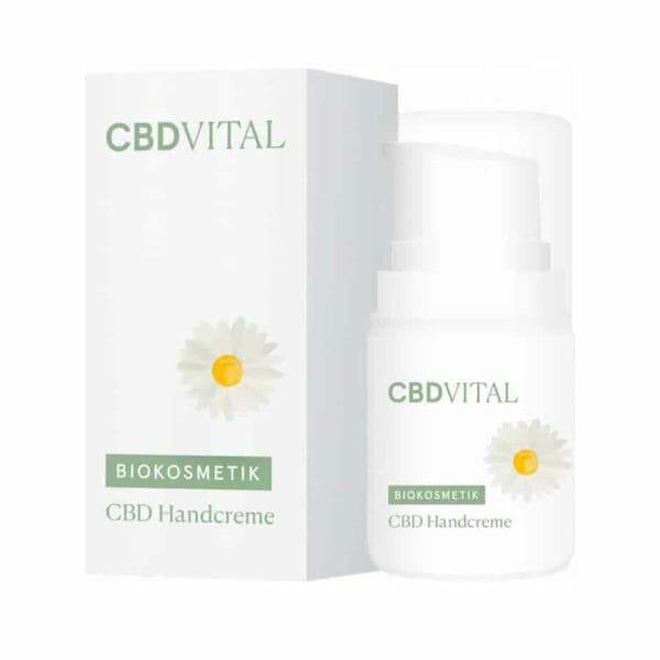 CBD Vital Handcreme Bio Naturkosmetik