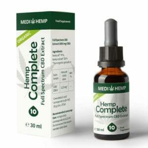 Medihemp Bio Hanf Öl Complete 30ml – 10%