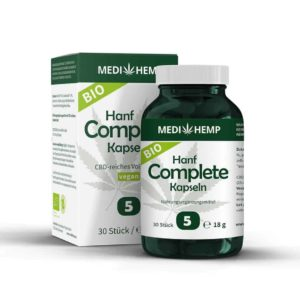 MEDIHEMP Bio Hanf Complete Kapseln 5%