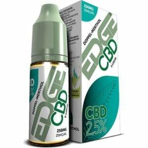 Edge CBD 250 mg eLiquid - doppel menthol