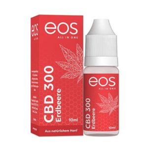 eos 300mg CBD eLiquid Erdbeere