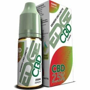 Edge CBD 250 mg eLiquid - Erdbeere & Limette