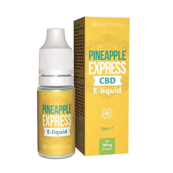 Harmony CBD E Liquid Pineapple Express