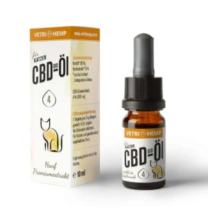 VETRIHEMP CBD-Öl 4% für Katzen